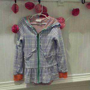 Matilda Jane 435 Girls Colorful Jacket Size 8